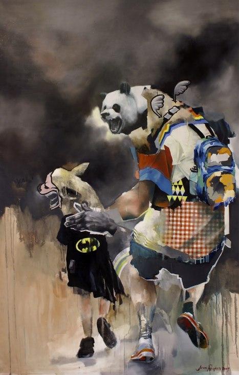 Joram Roukes | Painter | les Artistes du Web | Scoop.it