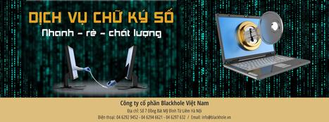 Hướng dẫn sử dụng chữ ký số | blackhole.vn | Scoop.it