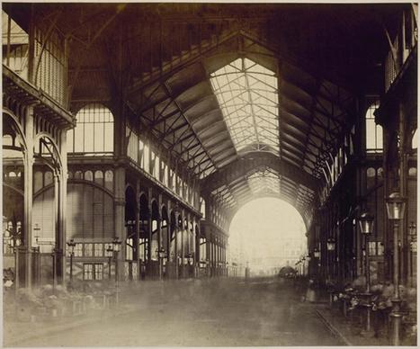 Les Halles au XIXe siècle   Histoire(s) de Paris   Auprès de nos Racines - Généalogie   Scoop.it