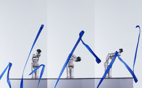 Rhythmic Gymnastics – Denso robotic arm and the sensibility of human movement | Architecture, design & algorithms | Scoop.it
