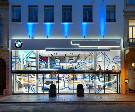 BMW Brand Store in Brussels earns Iconic Award 2014 | Automotive Customer Experience Excellence | Scoop.it
