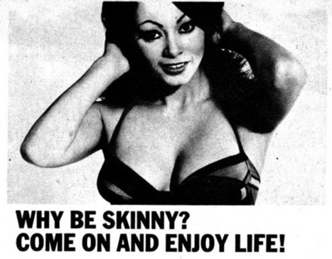 Ces publicités qui encourageaient la prise de poids   Ma diététique à moi   Scoop.it