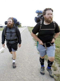 Cross country walk raising money, awareness for veterans issues | Veterans and Military Families News | Scoop.it