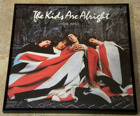 Framed Vintage Record Album Cover – The Kids Are Alright - The Who   Album covers   Scoop.it