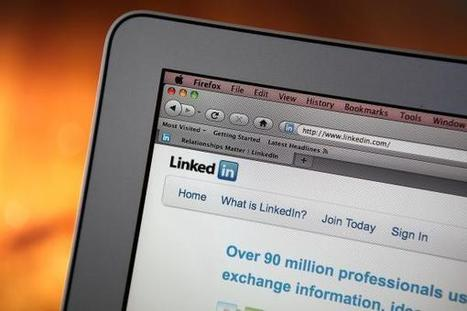 LinkedIn working on economic graph: CEO | All About LinkedIn | Scoop.it
