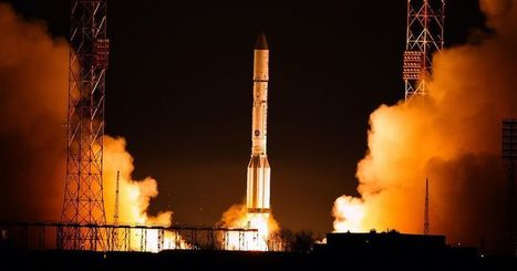 European SpaceDataHighway's first satellite lifts off | Heron | Scoop.it