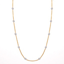 Diamond Station Necklace collection by Timeless Jewelry | Jewelry Collection | Scoop.it