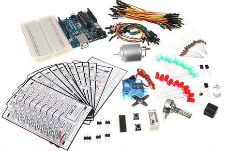 Arduino & Raspberry Notepad: Revue du kit d'expérimentation Arduino traduit en Français (ARDX) | Ressources pour la Technologie au College | Scoop.it