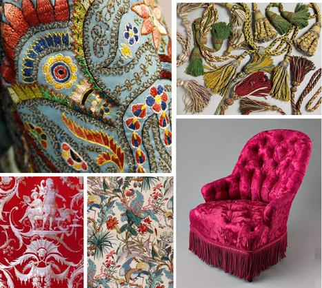 39 tissus ameublement 39 in tissu d 39 ameublement art textile et papier peint de luxe page 3. Black Bedroom Furniture Sets. Home Design Ideas