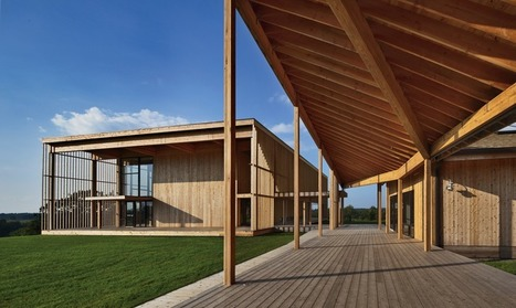 Sustainability, Simplicity and Natural Materials at New York's Won Dharma Center   Today's Modern Architects and Architecture   Scoop.it