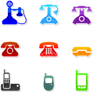 stock-illustration-4322797-telephone-evolution-icon-set.jpg (380x373 pixels) | Telephone and World As Global Village | Scoop.it