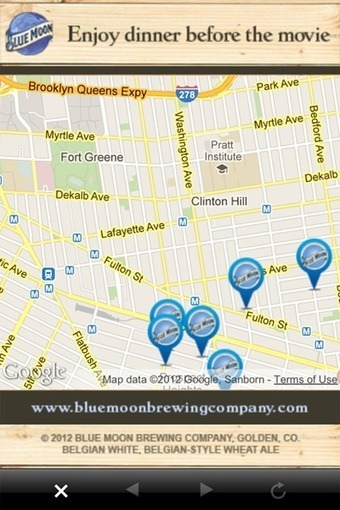 Blue Moon spearheads location, context via mobile ads   Advertising   Mobile Marketer