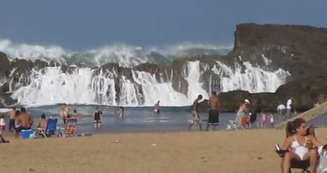 La plage insolite de Porto Rico- MétéoCity | Info-Tourisme | Scoop.it