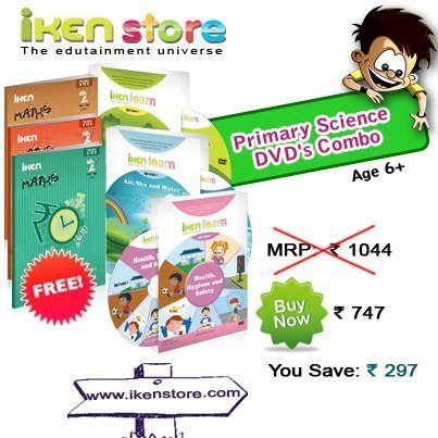 Buy 3 iKen Learn DVD's and get 20% OFF and 3 iKen Math Books FREE! | Educational Toys | Scoop.it