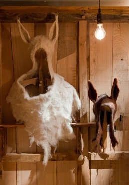 Wearable Art: The Making of Kealwork's Incredible Felted Rams, Ewes, Goats from Natural Materials - Eco-Chick | Felt | Scoop.it