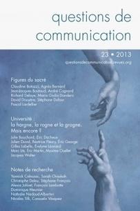 Questions de communication   Revues en SIC   Scoop.it