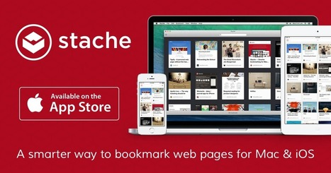 Stache — a smarter way to bookmark web pages | Digital advertising | Scoop.it