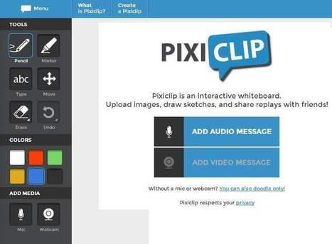 Des tableaux blancs en partage, PixiClip | Les Infos de Ballajack | Les outils d'HG Sempai | Scoop.it