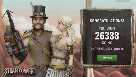 H Net Entertainment κατασκευάζει νέο κουλοχέρη με την ονομασία Steam Tower | ellinika Online Casino | Scoop.it