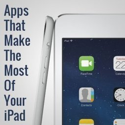 Apps That Make the Most of Your iPad | ColourMyLearning | Scoop.it
