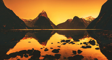A Reflective Morning in Milford Sound | Digital-News on Scoop.it today | Scoop.it