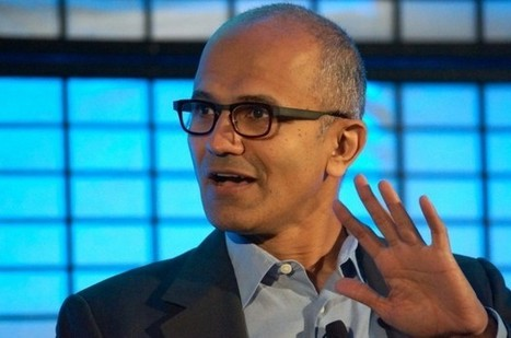 Satya Nadella on Microsoft's mobile strategy: Current market share isn't what ... - GeekWire | Social Content Curation Library | Scoop.it