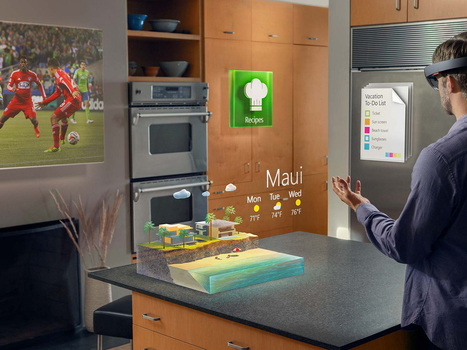 Project HoloLens: Our Exclusive Hands-On With Microsoft's Holographic Goggles | WIRED | digital learning | Scoop.it