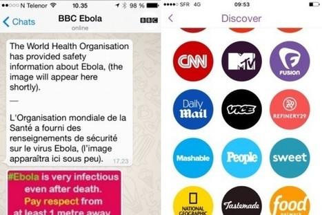 Les Inrocks - Snapchat, WhatsApp, vidéos verticales: on sait (enfin) à quoi ressemble l'avenir du journalisme | Innovation et éducation aux médias numériques | Scoop.it