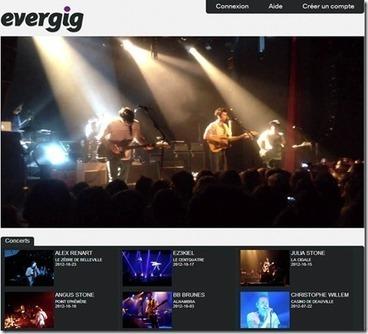 Les français de la TV connectée : Evergig | music video | Scoop.it