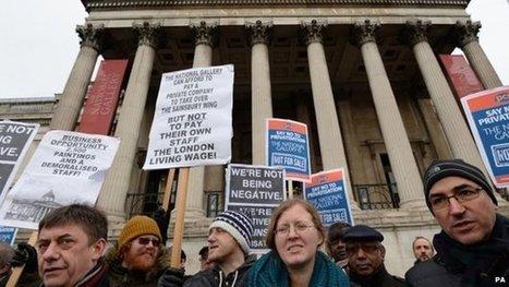 National Gallery staff go on strike   BBC   Kiosque du monde : A la une   Scoop.it