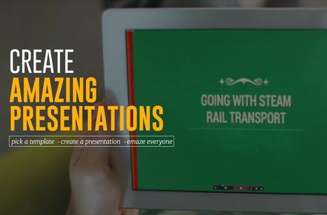Créer des présentations originales avec Emaze | Le Top des Applications Web et Logiciels Gratuits | Scoop.it