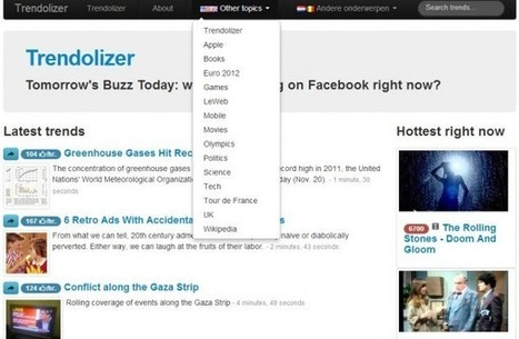 Trendolizer, lo más popular de Facebook.- | Google+, Pinterest, Facebook, Twitter y mas ;) | Scoop.it