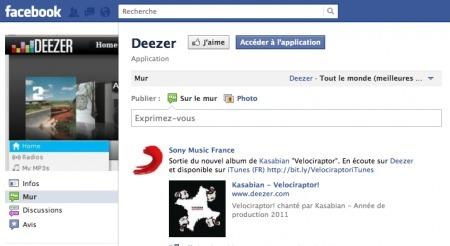 Deezer compte sur Facebook pour envahir le monde entier - PC INpact | Music business | Scoop.it