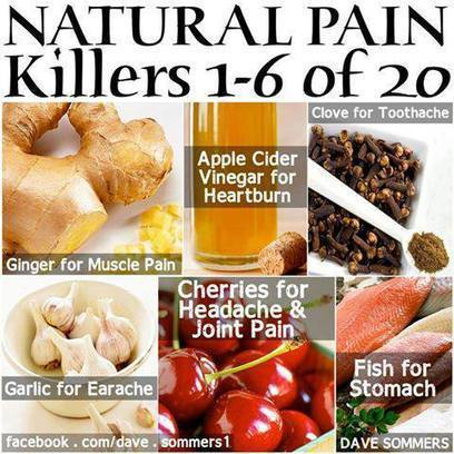 20 Natural Pain Killers | Health and Nutrition | Scoop.it
