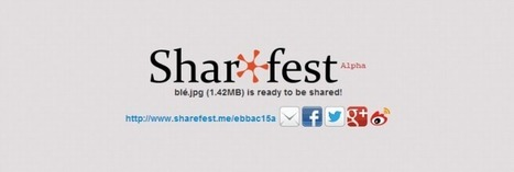 Sharefest – Partager un fichier vite fait, bien fait | Time to Learn | Scoop.it