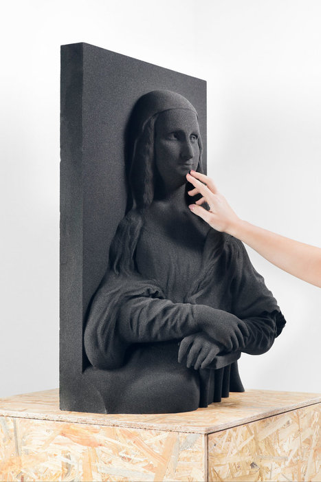 3D Versions Of Masterpieces Bring Art To The Visually Impaired | Creatively Aging | Scoop.it