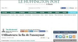 Huff Post : compte Facebook obligatoire pour commenter | Social Media | Scoop.it