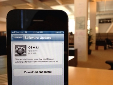 Apple confirms iOS 6.1 lock-screen flaw, promises fix | ZDNet | Apple, Mac, iOS4, iPad, iPhone and (in)security... | Scoop.it