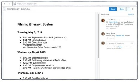Dropbox launches new commenting feature for collaboration on shared files - GeekWire | Library Collaboration | Scoop.it