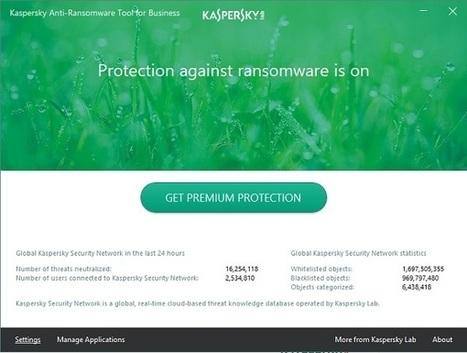 Kaspersky Anti-Ransomware Tool | Programmes gratuits et sites pratiques | Scoop.it