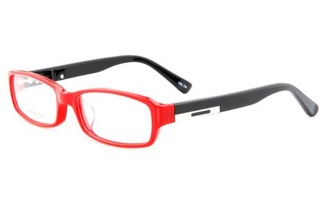 Red Black JB8399 Full Rim Oval,Rectangle Glasse | anninobi | Scoop.it