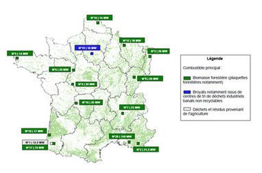 Quinze projets de production d'électricité à partir de biomasse lancés en France | Beauty Push, bureau de presse | Scoop.it