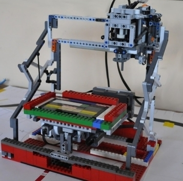 Lego 3D Printing-Milling Machine | FabLabs & Open Design | Scoop.it