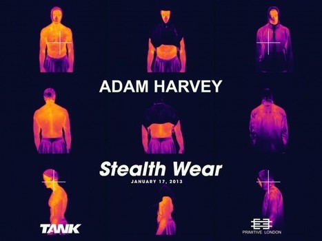 Stealth Wear | Adam Harvey | Sensor Machine Interfacing | Scoop.it