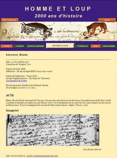 Attaques de loups : nouvelles archives en ligne | Rhit Genealogie | Scoop.it