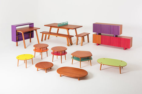 Compact Furniture for Fun & Playful People - Design Milk | A. Perry Design Lounge | Scoop.it