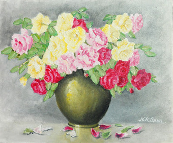 Live Your Hobbies: Art - Flower vase oil painting | Live Your Hobbies | Scoop.it