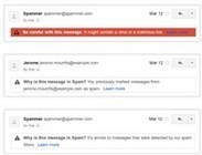 Google now tells you why Gmail spam is spam - msnbc.com | Google + Applications | Scoop.it
