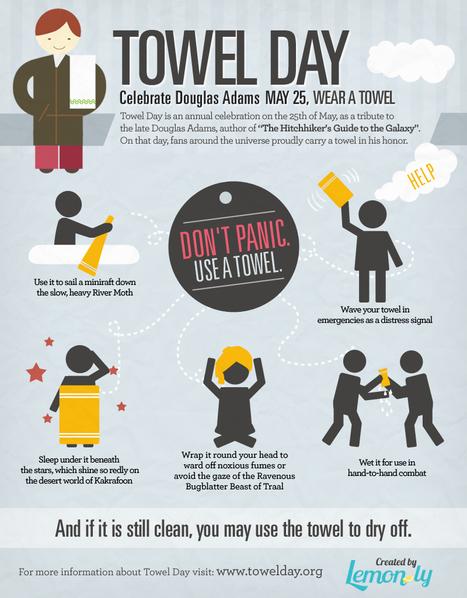 It's Towel Day!   Tech happens!   Scoop.it