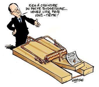 France: caricature de François Hollande par le dessinateur Large | Moi François Hollande président News de la gauche Bobo | Scoop.it